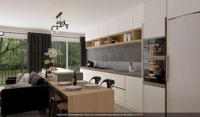 Appartement 3 pièces meublé de 67m² nº1